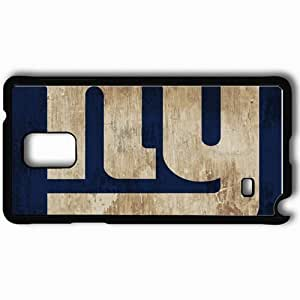 taoyix diy Personalized Samsung Note 4 Cell phone Case/Cover Skin 1581 new york giants Black