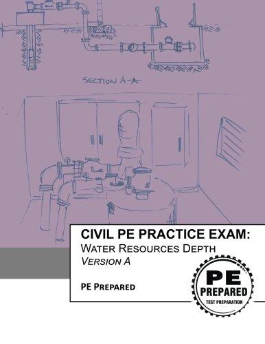 Civil PE Practice Exam: Water Resources Depth Version A
