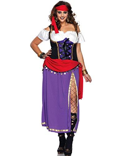 Traveling Gypsy Costume - Plus Size 3X/4X - Dress Size 22-26 ()