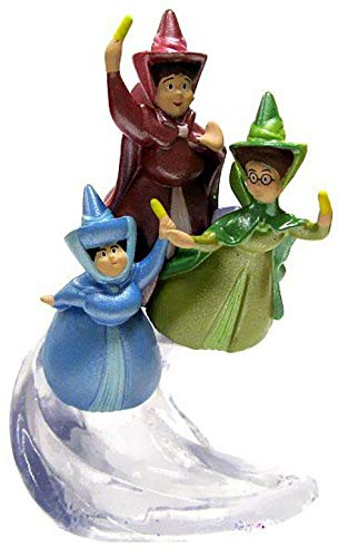 Disney Sofia the First Exclusive 3.5 inch PVC Figurine Flora, Fauna & Merryweather