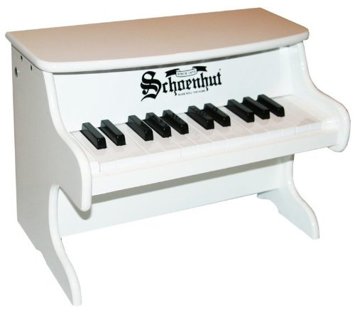 "Schoenhut 25 Key ""My First Piano II White"