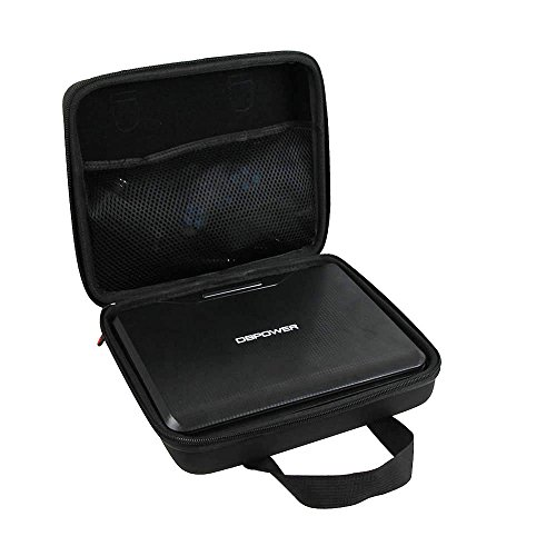 Hard EVA Travel PU Case for DBPOWER 9.5-Inch Portable DVD Player by Hermitshell