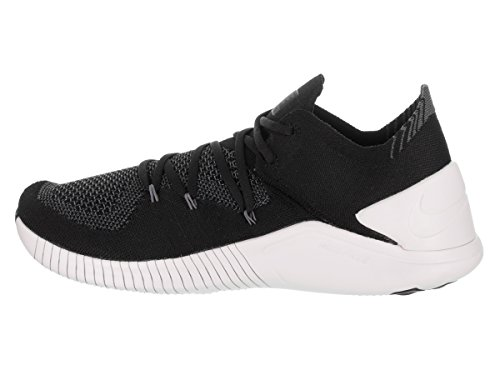Nike Womens Gratis Tr Flyknit 3 Trainingsschoen Zwart / Wit Donkergrijs