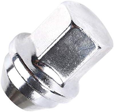 Fugen 16Pcs Hex Nut Wheel M12x1.5 Wheel Nuts Locking Alloy Wheel Nuts for Ford Focus-19mm