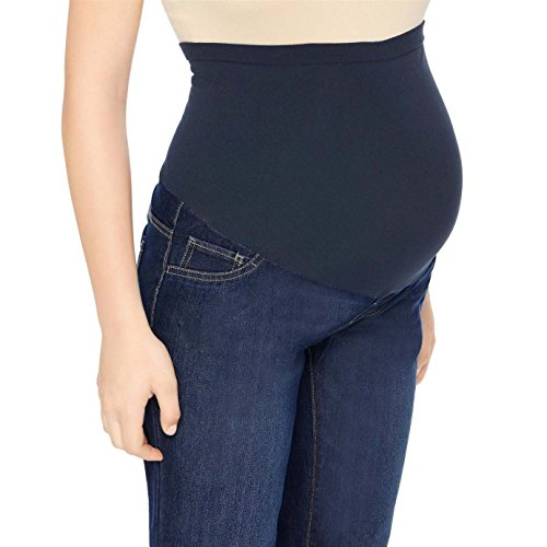 LizLang Maternity High Rise Bootcut Jeans for Women Pregnancy Stretch Pants with Full Panel Cute & Sexy by LizLang (Image #1)