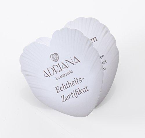 Adriana - E17 - Boucles d'oreille Femme - Or Jaune 585/1000 (14 cts) - Perle de culture d'Akoya