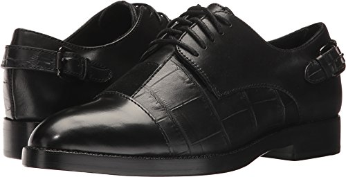Coach Women's Waverly Patchwork Croc And Calf Leather Ankle-High Oxford Shoe