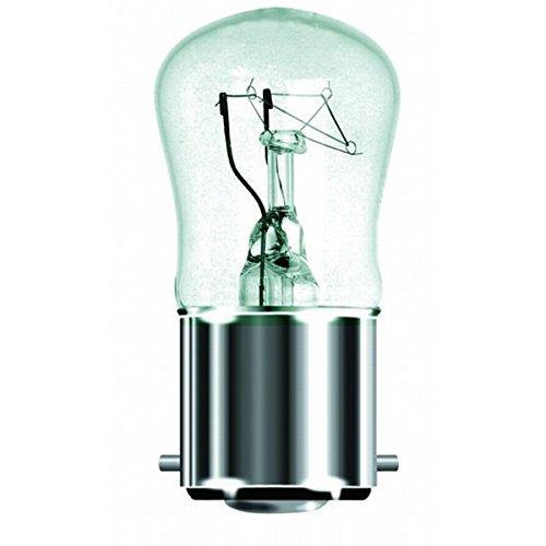 10x 42W = 60W Clear Flame Candle Bent Tip Halogen Light Bulbs BC B22 Bayonet Cap