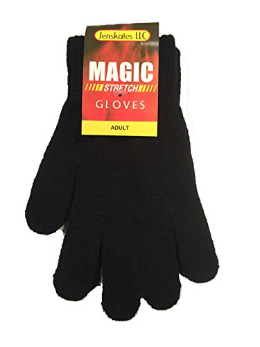 Magic Stretch Gloves for Adults - Black