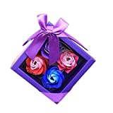 Alimao Scented Refinement Bath 2019 New Body Petal Rose Flower Soap Wedding Decoration Gift Best 4pc