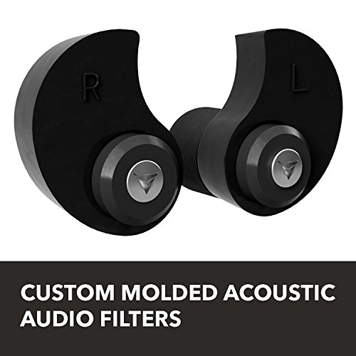 Decibullz Custom Molded Professional Filters with Professional Acoustic Filter Technology, Perfect for Musicians, Recording Professionals and Concertgoers by Decibullz