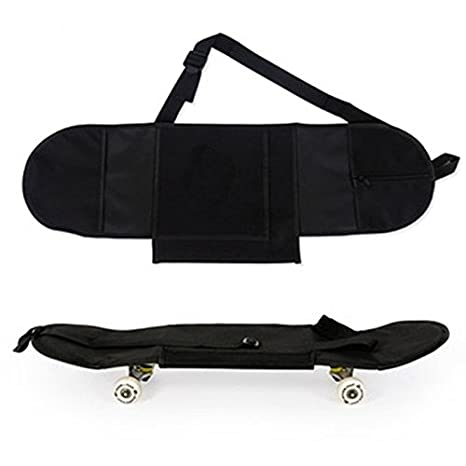 Amazon.com: Auntwhale Longboard Carrying Backpack Skateboard Backpack Practical Black Non Woven Fabric Skate Bag Sports Backpack: Sports & Outdoors