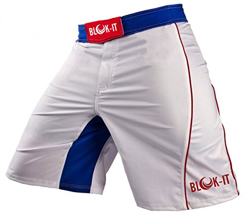 Fight Shorts by Blok-IT - These Boxing and MMA Shorts are Competition Grade, Yet Flexible and Comfortable for