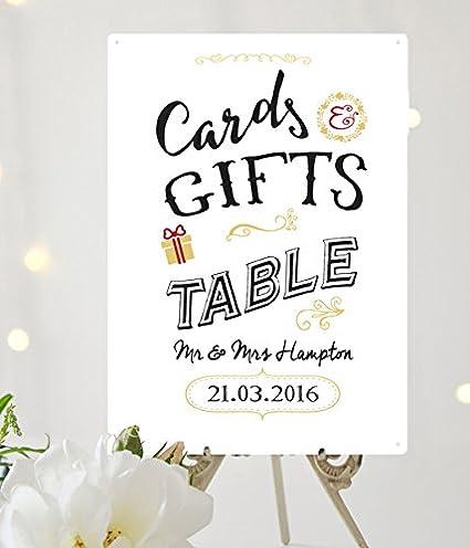 Diseño de pizarra tarjetas y regalos mesa color blanco A4 ...