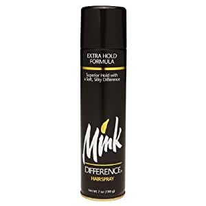 Mink Difference Hair Spray Extra Hold 7 oz. (Pack of 3)