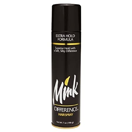 Mink Difference Hair Spray Extra Hold Formula 7 Oz (Pack of 12)