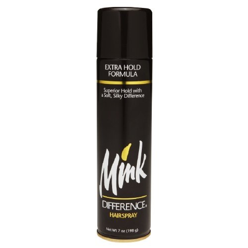 Extra Hold Formula (Mink Difference Hair Spray Extra Hold Formula 7 Oz (Pack of 12))