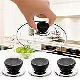 Kshcf Pot Lid Handle Replacement Cookware Knob Pan Pot Cap Screw Handle Kitchen Universal Cover Handle Plastic Holding Handle