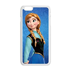 ZXCV Frozen Princess Anna Cell Phone Case for Iphone 6 Plus