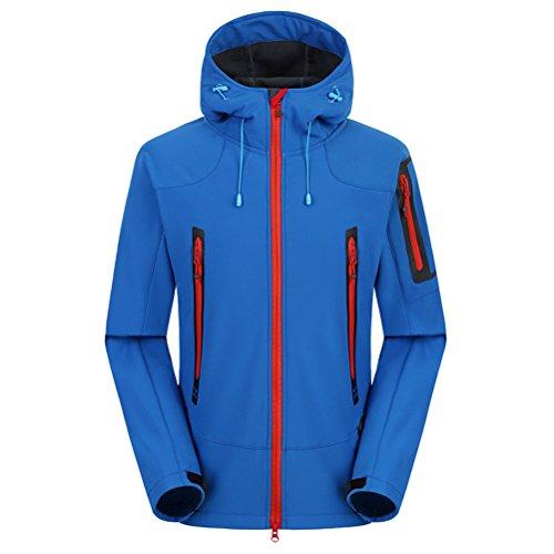 Blue Soft Mountaineering Outdoor Tourismwaterproof Coat shell Jacket Royal Wool Tempo Zhhlaixing Men Libero Zw1q7xA
