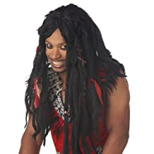 Voodoo Dreads Adult Wig, One-Size, Black