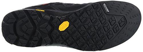 SALEWA Firetail 3 Gore-Tex, Scarpe da Arrampicata Uomo Nero (Black Out/Papavero 0949)