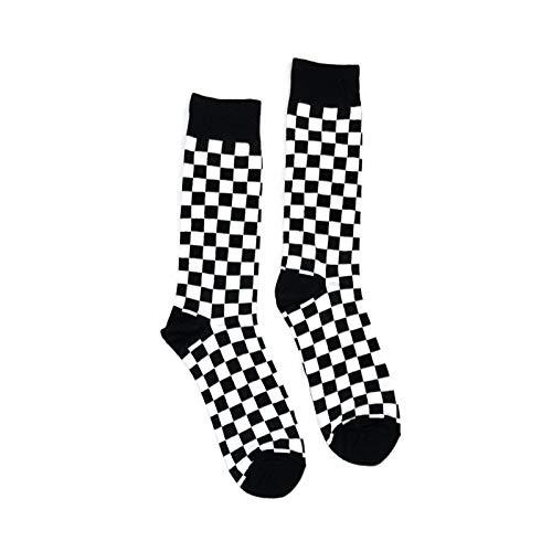 Bop Classy Checkered Men's Accessory Set (Socks 1 Pair - -