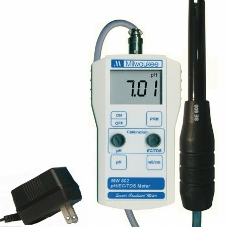 Milwaukee Instruments pH/Electric Conductivity/Total Dissolved Solids Combo Meter ()