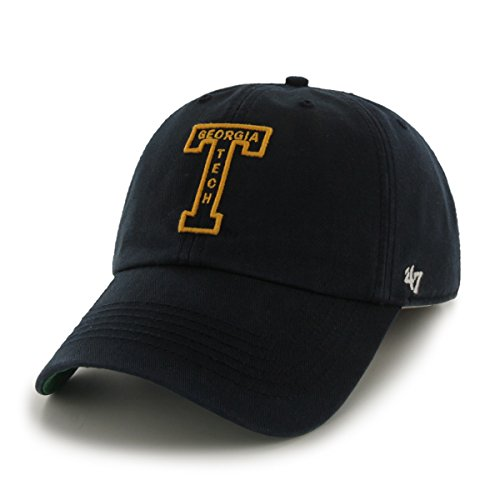 '47 NCAA Georgia Tech Franchise Fitted Hat, Navy 2, Large