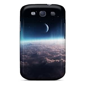 Galaxy Covers Cases - Outer Space Protective Cases Compatibel With Galaxy S3