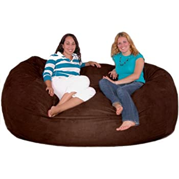 Amazon Com Cozy Sack 7 Feet Bean Bag Chair X Large