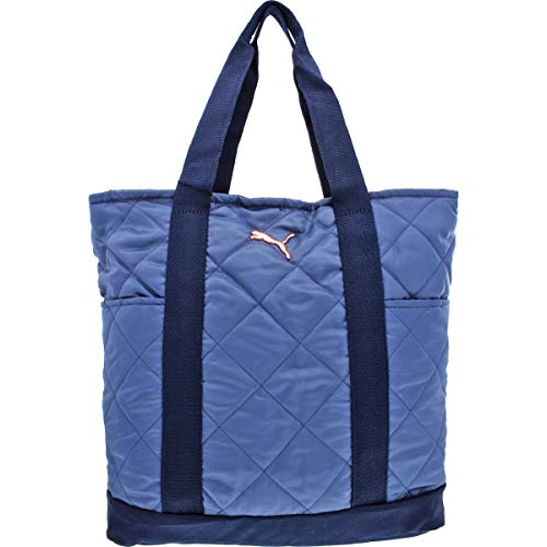 PUMA Women's Orbital Tote Blue Combo One Size (Puma Women Bag)