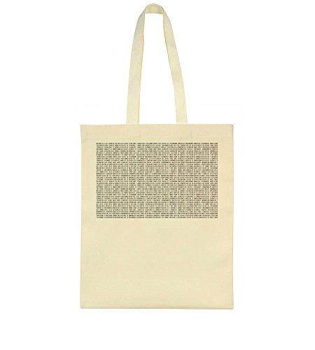 Many Tote Bag Bag Many Binary Numbers Binary Tote Numbers ZpIwzq