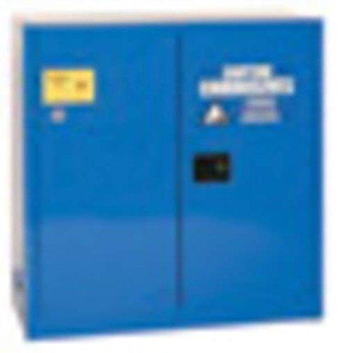 Eagle CRA-45 Acid/Corrosive Safety Cabinet, Sliding, 1 Door, Two Shelves, 43