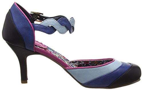 Joe Browns Elegantly Vintage Shoes - Tacones Mujer Azul (Blue)