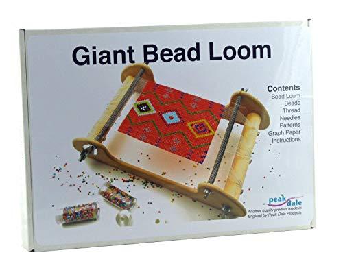 Beadsmith Metal Bead Loom Kit 16x6cm Weaving Loom Area