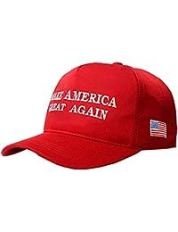 MAGA Hat Make America Great Again Donald Trump Slogan with USA Flag Cap Adjustable Baseball Hat