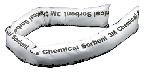 3M Chemical Sorbent Mini-Boom P-200, Environmental Safety Product, 12 gallons, 12 ea/cs (Pack of (Sorbent Mini)