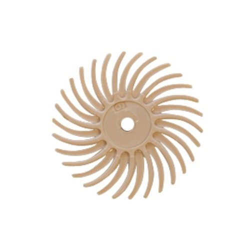Radial Disc, Peach, 3/4 Inch, 6 Micron, Pack Of 12 | BRS-580.80 by EuroTool