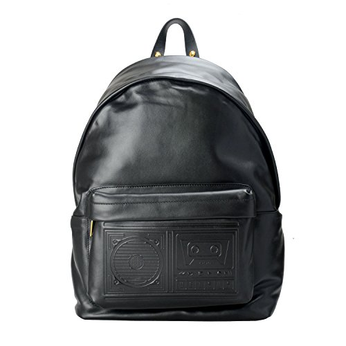 Versace Versus Leather Black Unisex Backpack for sale  Delivered anywhere in USA