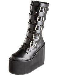 Demonia by Pleaser Womens Swing-220 5 Buckle Platform Boot