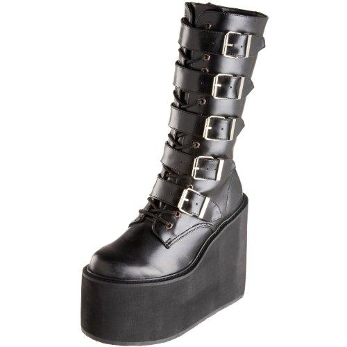5 Buckle Platform Boot - Demonia Pleaser Women's Swing-220 5 Buckle Platform Boot