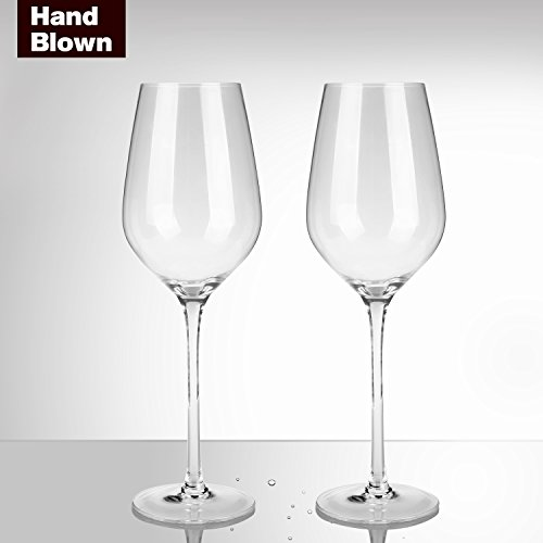 Bella Vino Red Wine Glasses(Pack of 2) Beautifu...