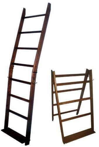 The LadderRack It's 2 Quilt Racks in 1! (7 Rung/24'' Model/American English)