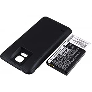 Batería para Samsung SM-G900T Color Negro 5600mAh, 3,85V, Li-Ion [batería para ordenador de bolsillo (PDA)]