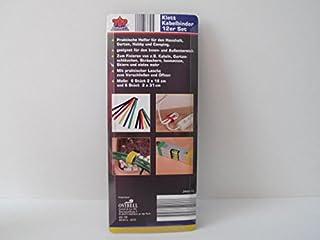 Fascette in Velcro 12er Set, pratica Aiuto per la casa, giardino, Hobby e Camping