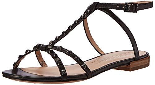Marc Jacobs Women's Ana Ankle Strap Dress Sandal, Black, 39 EU/9 M US