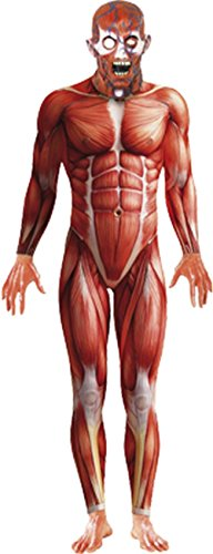 Smiffy's Anatomy Man Costume, Multi, Large