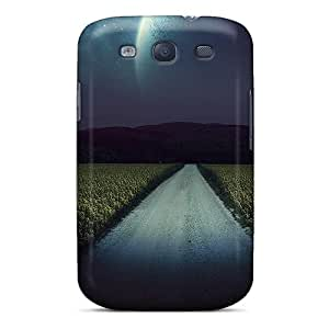 Hot Style OPnluUj3221bvLig Protective Case Cover For Galaxys3(night Fantasy Road)
