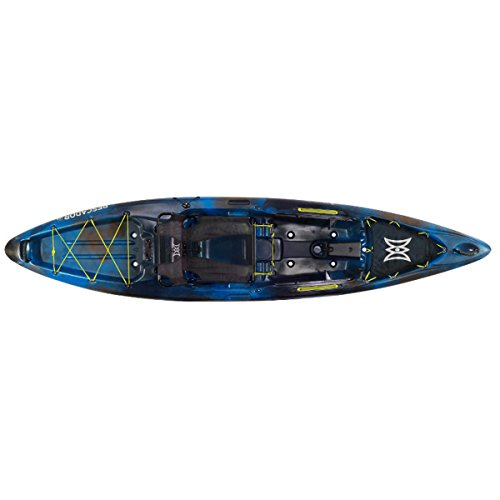 Perception Kayak Pescador Pro 12 Bs, Sonic Camo (Perception Cooler)